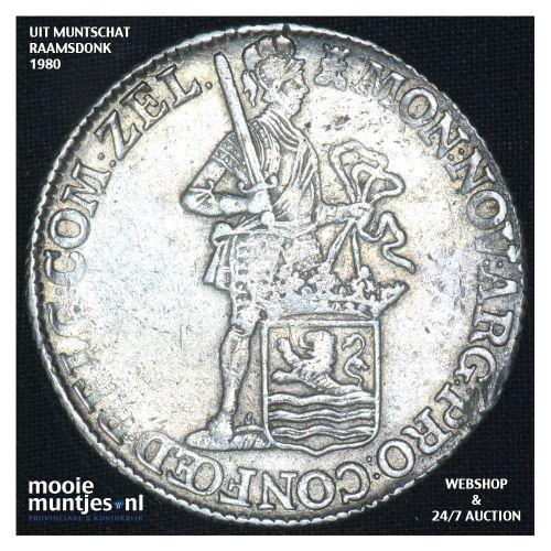 Zeeland - Zilveren dukaat - 1772 (kant B)