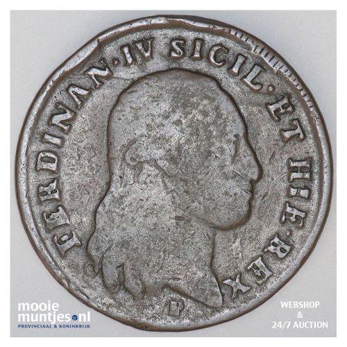 6 tornesi - Italian States/Naples 1801 (KM 229) (kant B)