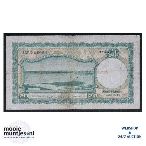 20 gulden - 1945 (Mev. 59-1 / AV 42) (kant B)