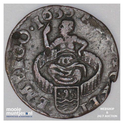Zeeland - Duit - 1653 (kant A)