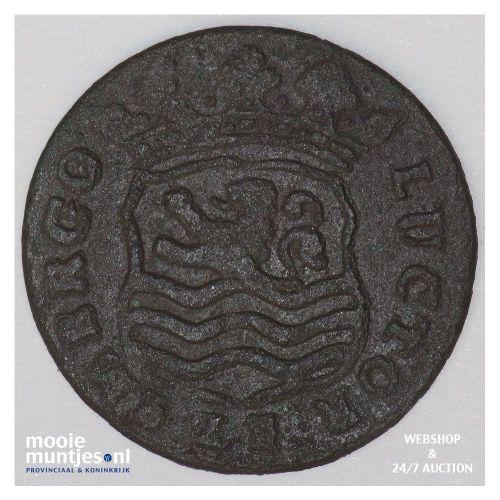 Zeeland - Duit - 1653 (kant B)