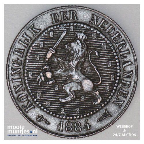 ½ cent - Wilhelmina - 1916 (kant A)