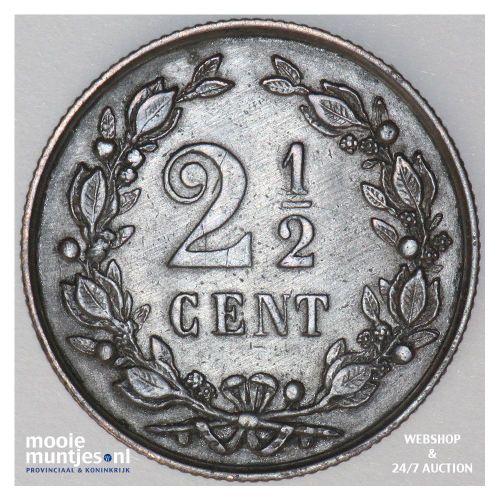 ½ cent - Wilhelmina - 1916 (kant B)
