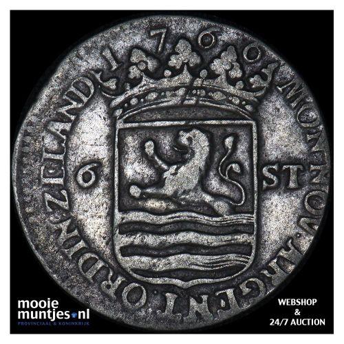 Zeeland - Scheepjesschelling - 1766 (kant A)