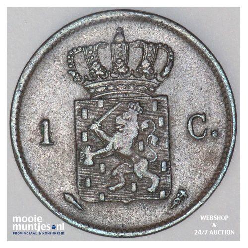 1 cent - Willem I - 1827 Utrecht (kant B)