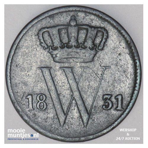 1 cent - Willem I - 1831 (kant A)