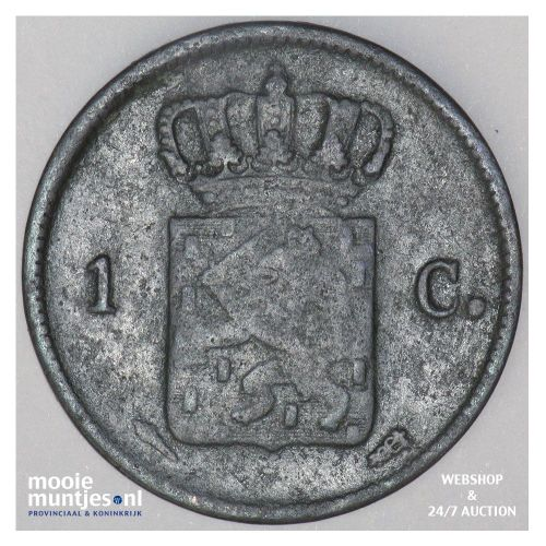 1 cent - Willem I - 1831 (kant B)