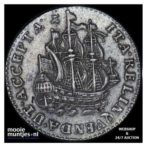 Zeeland - Scheepjesschelling - 1750 over 46 (kant B)