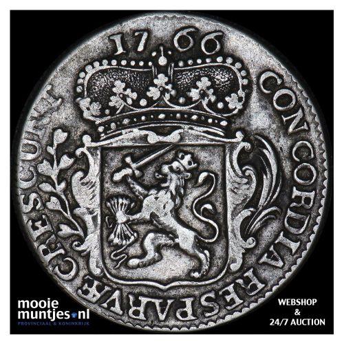 Zeeland - Kwart dukaat  - 1766 (kant A)