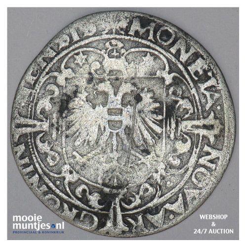 Stad Groningen - Vier stuiver of flabbe - 1590 (kant B)