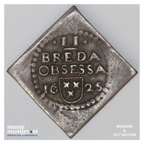 Breda - Dubbele stuiver - 1625 (kant A)