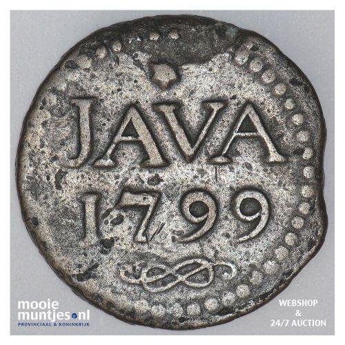 Nederlands-Indië - 1 Stuiver - 1799 (kant A)