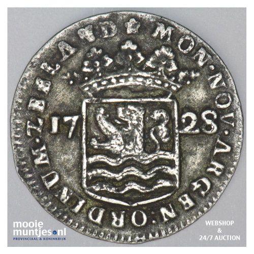 Zeeland - Hoedjesschelling - 1728 (kant A)