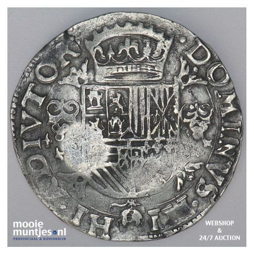 Holland - Halve Philipsdaalder - 1573 (kant B)