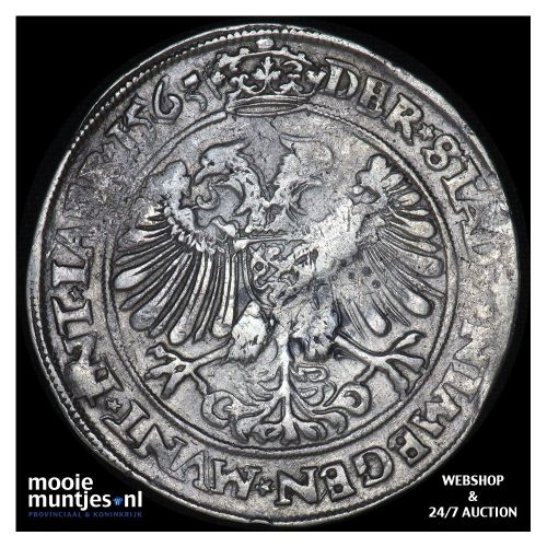 Nijmegen - Daalder   - 1563 (kant A)