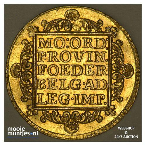 Holland - Dubbele gouden dukaat - 1759 (kant B)