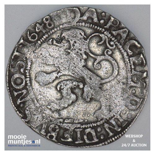 Zwolle - Halve stedelijke leeuwendaalder - 1648 (kant A)