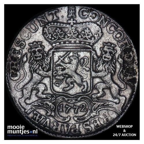 Zeeland - Zilveren rijder of dukaton - 1772 (kant A)