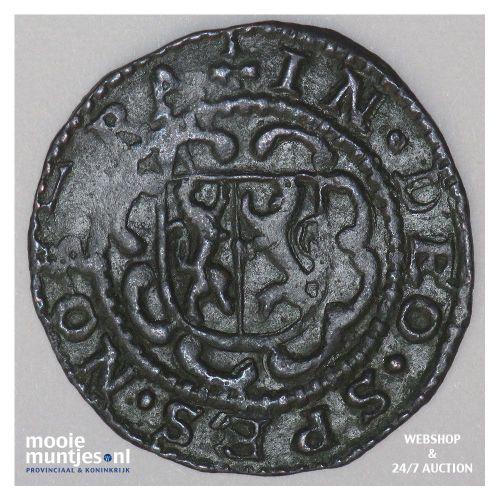 Stad Utrecht - Duit - 1619 (kant B)