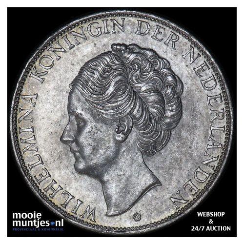 2½ gulden - Wilhelmina - 1930 (kant B)