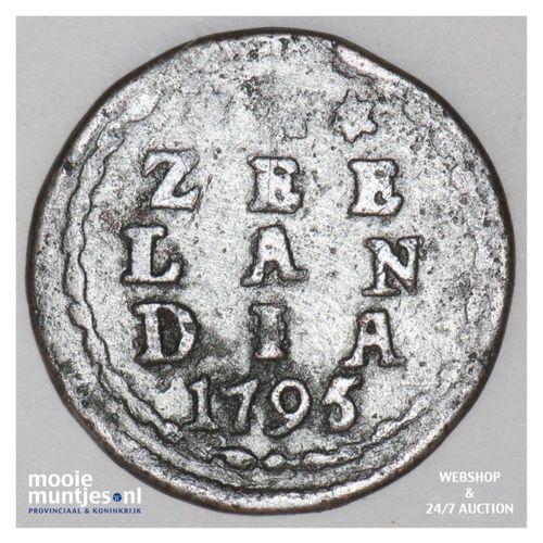 Zeeland - Duit - 1795 (kant A)