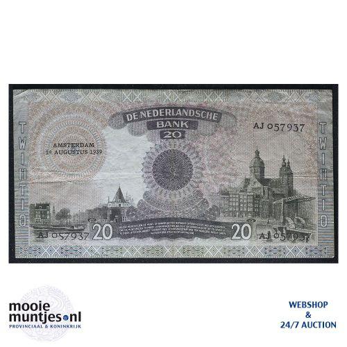 25 gulden - 1955 (Mev. 83-1a / AV 55) (kant B)