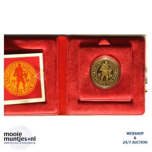 Dubbele gouden dukaat - Beatrix - 1988 (kant A)
