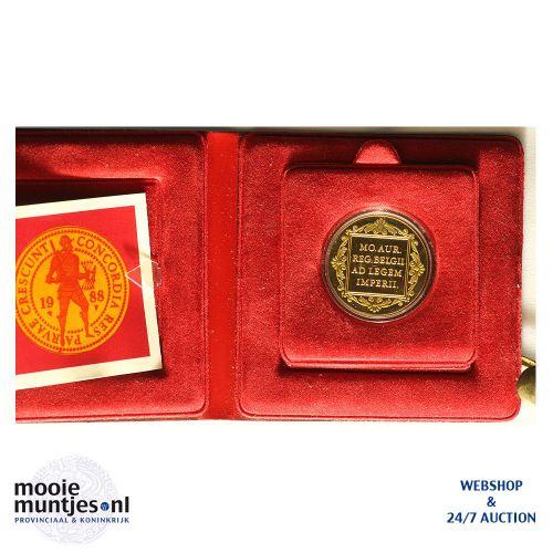 Dubbele gouden dukaat - Beatrix - 1988 (kant B)