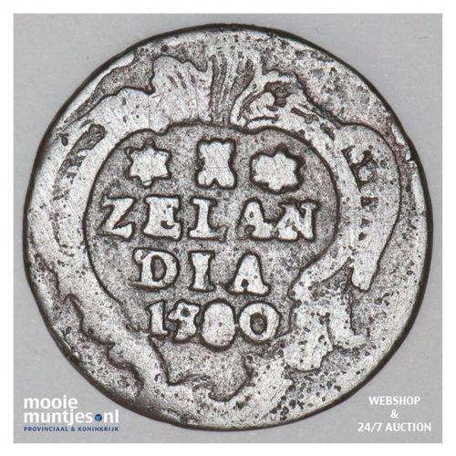 Zeeland - Duit - 1780 (kant A)