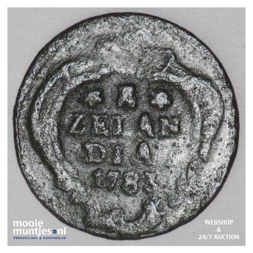 Zeeland - Duit - 1783 (kant A)