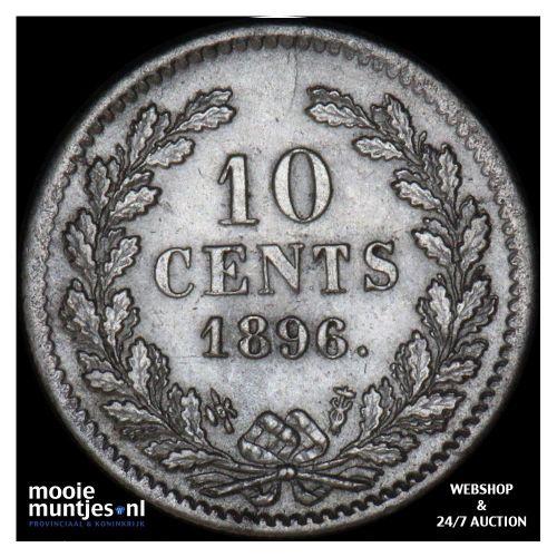 10 cent - Wilhelmina - 1893 (kant A)