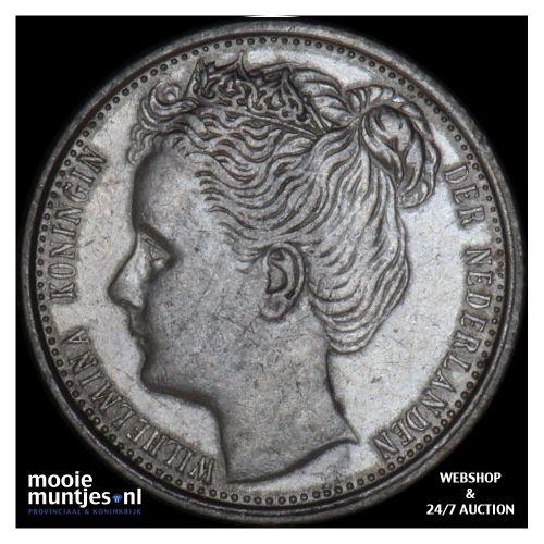 10 cent - Wilhelmina - 1901 (kant B)