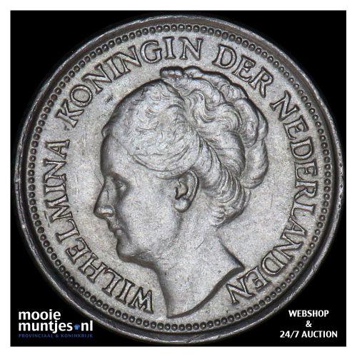 10 cent - Wilhelmina - 1927 (kant B)