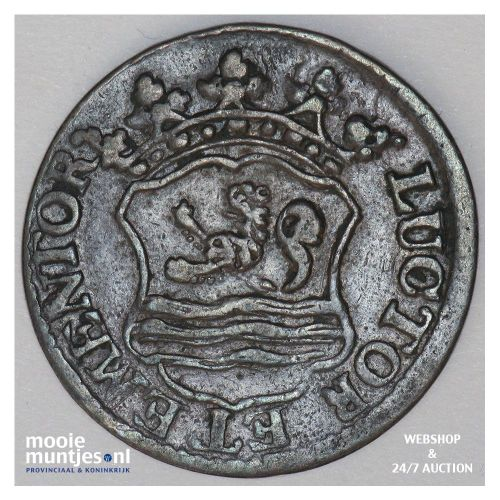 Zeeland - Duit - 1754 (kant B)