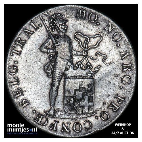 Zilveren dukaat - Willem I - 1816 (kant B)