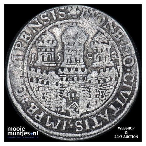 Kampen - Halve arendsrijksdaalder - 1598 (kant A)