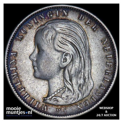 1 gulden - Willem I - 1824 b Utrecht (kant B)