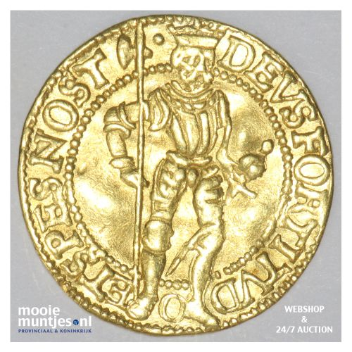 West-Friesland - Hongaarse gouden dukaat - 1587 (kant B)