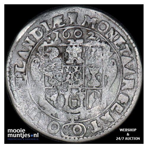 Zeeland - Zesde arendsdaalder van 10 groot - 1602 (kant A)
