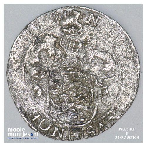 Friesland - Halve gehelmde schelling - 1599 (kant A)