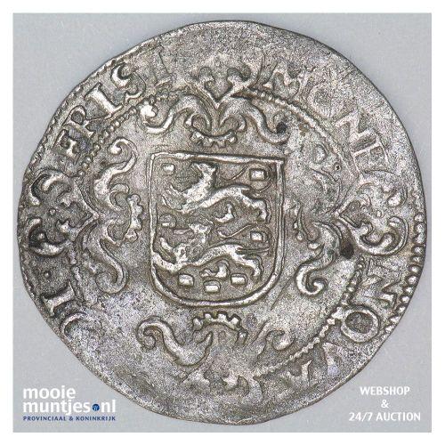 Friesland - Halve gehelmde schelling - 1599 (kant B)