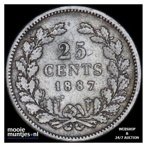 25 cent - Wilhelmina - 1904 (kant A)