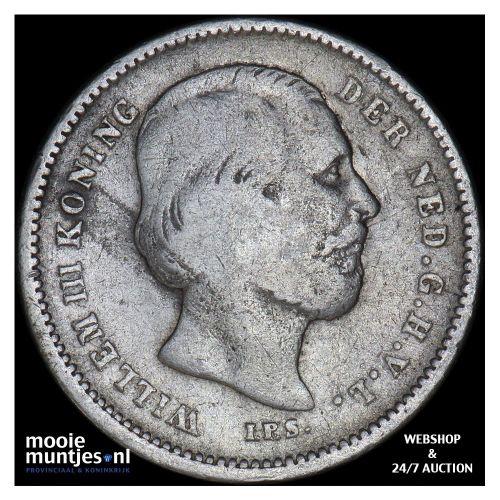 25 cent - Wilhelmina - 1904 (kant B)