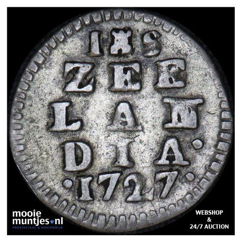 Zeeland - Pijl- of bezemstuiver - 1764 (kant A)