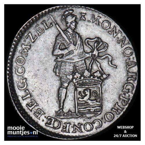 Zeeland - Achtste dukaat of Pietje - 1762 (kant B)