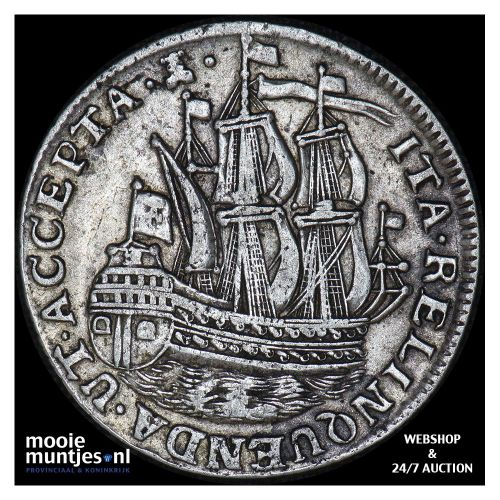 Zeeland - Scheepjesschelling - 1762 (kant B)
