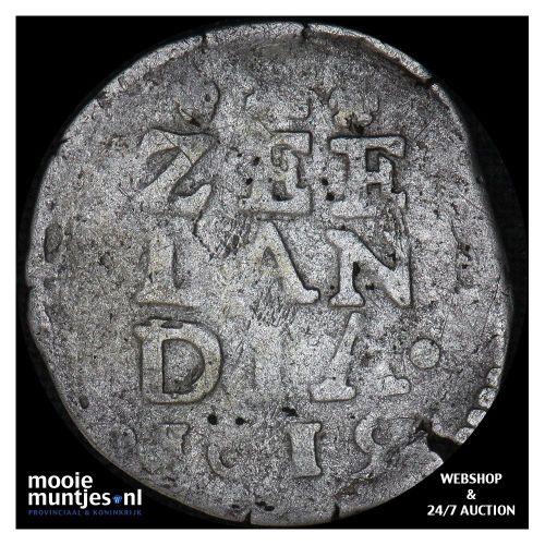 Zeeland - Stuiver - 1619 (kant A)