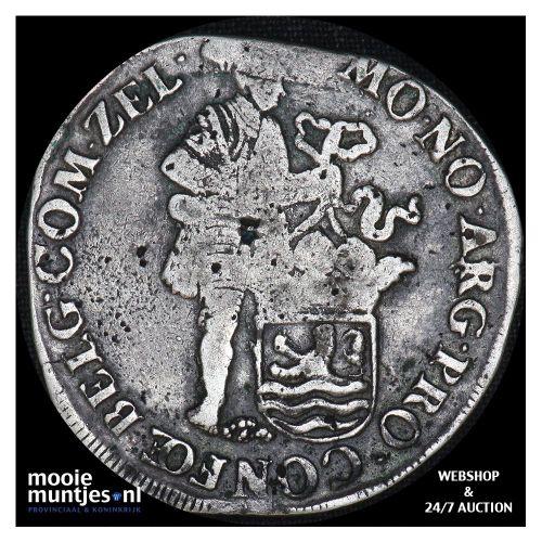 Zeeland - Zilveren dukaat - 1770 (kant B)