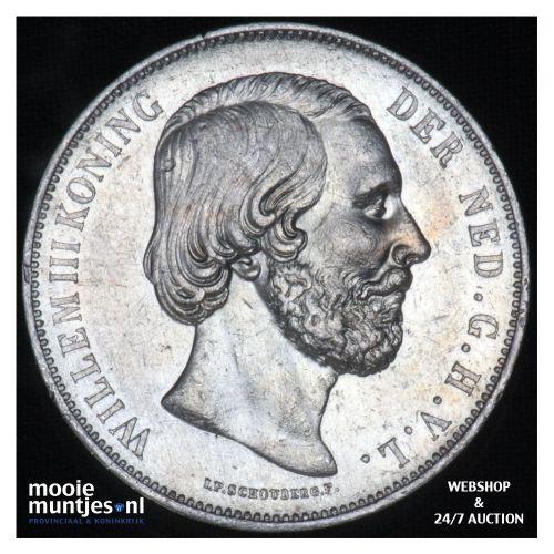 2½ gulden - Willem III - 1874 (kant B)