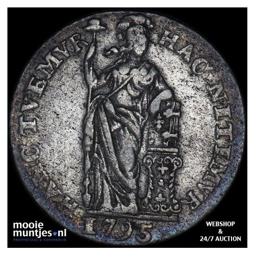 Holland - 1 gulden - 1795 (kant A)